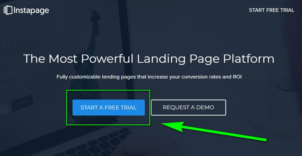 instapage free trial coupon
