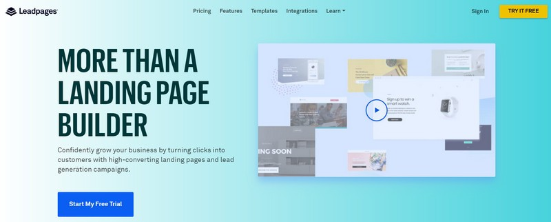 leadpages landing page creator